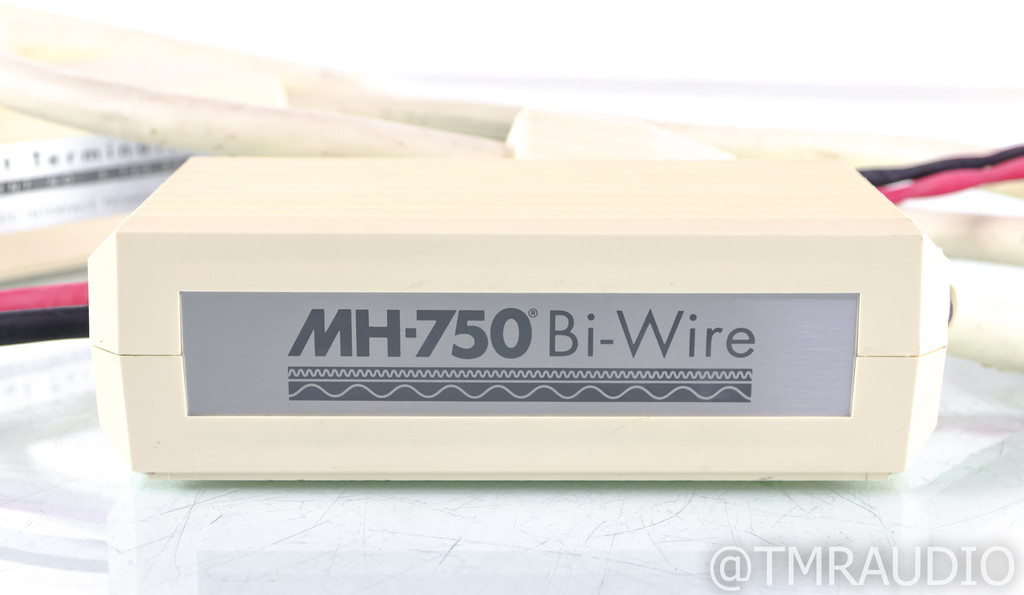 MIT MH-750 Bi-Wire Speaker Cables; 10ft Pair; MH750