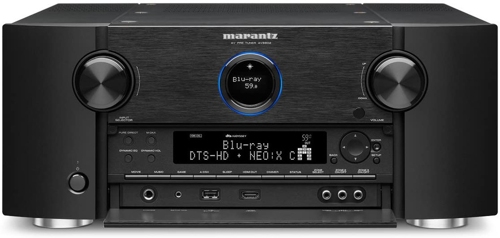 Marantz AV8802A 11.2 Channel Home Theater Processor; AV-8802A; 4K UHD (New)