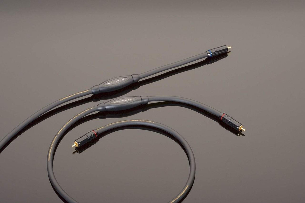 Transparent Audio MusicLink Plus RCA Cable; Single 1m Interconnect; MM2 (New)
