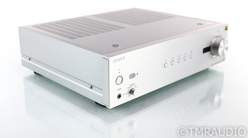 Sony TA-A1ES Stereo Integrated Amplifier; TAA1ES; Silver; Remote