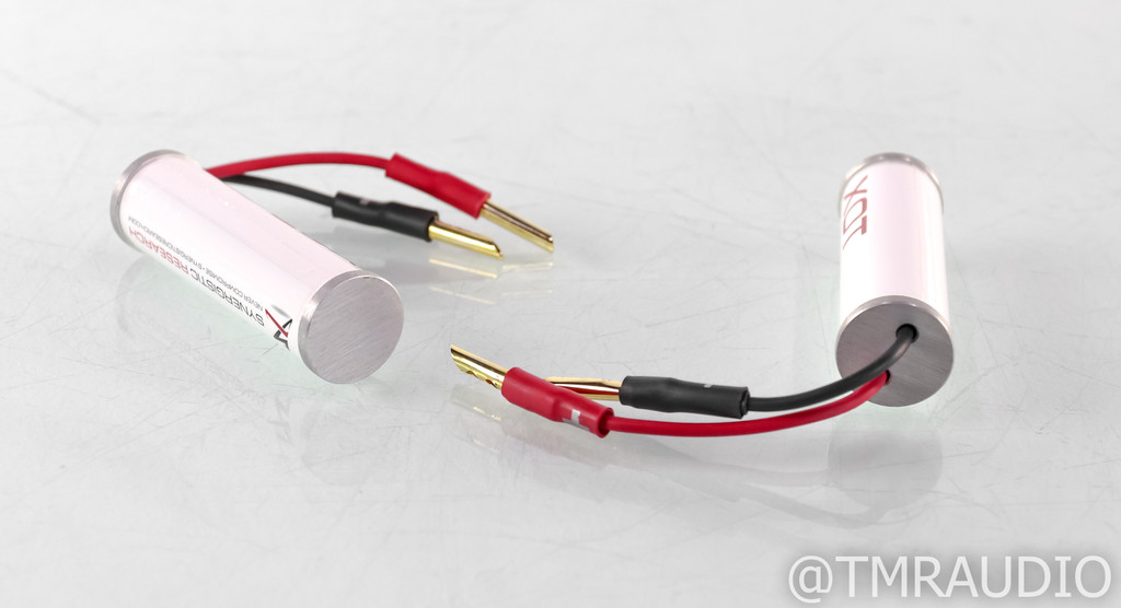 Synergistic Research XOT Crossover Transducer; Pair w/ Banana Plugs