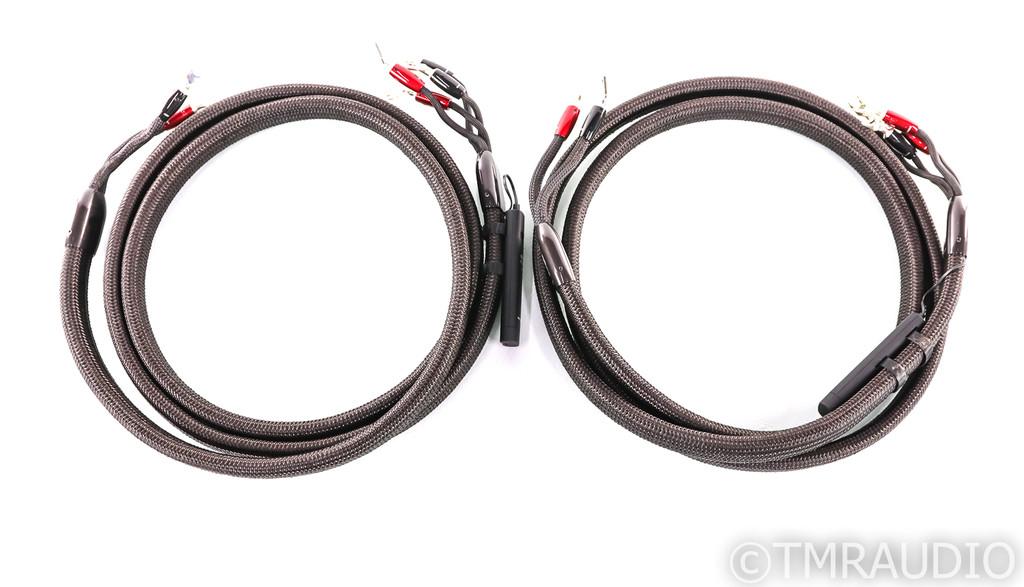 AudioQuest Oak Bi-Wire Speaker Cables; 3m Pair; 72v DBS