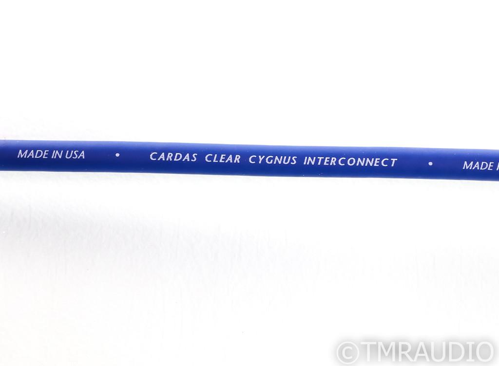 Cardas Clear Cygnus XLR Cables; .5m Pair Balanced Interconnects