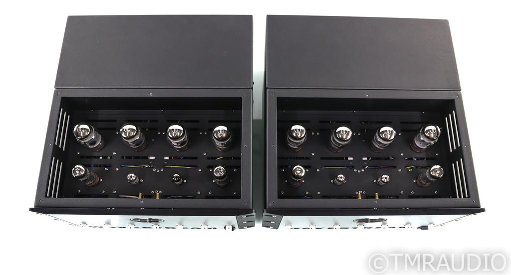 Wavestream Kinetics Boxter M100 Mono Tube Power Amplifier; Pair; NOS Input Tubes