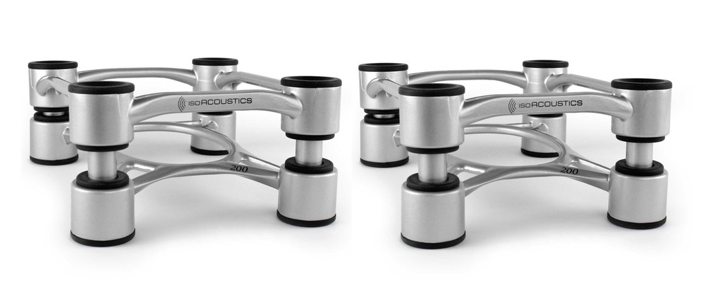 IsoAcoustics Aperta 200 Isolation Stands; Pair; New w/ Full Warranty