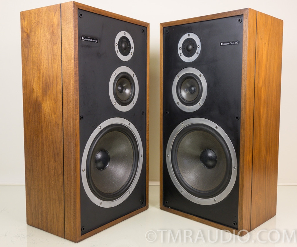 Celestion Ditton 442 Vintage 3 Way Speakers Refinished