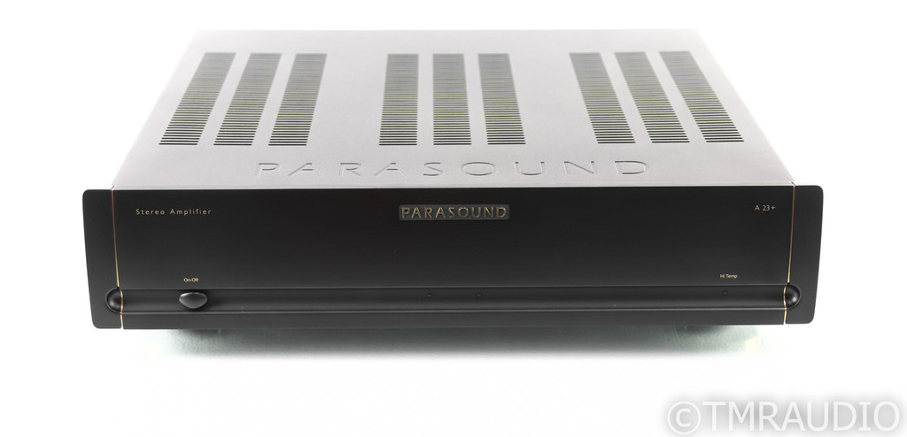 Parasound Halo A23+ Stereo Power Amplifier; A-23+; Black
