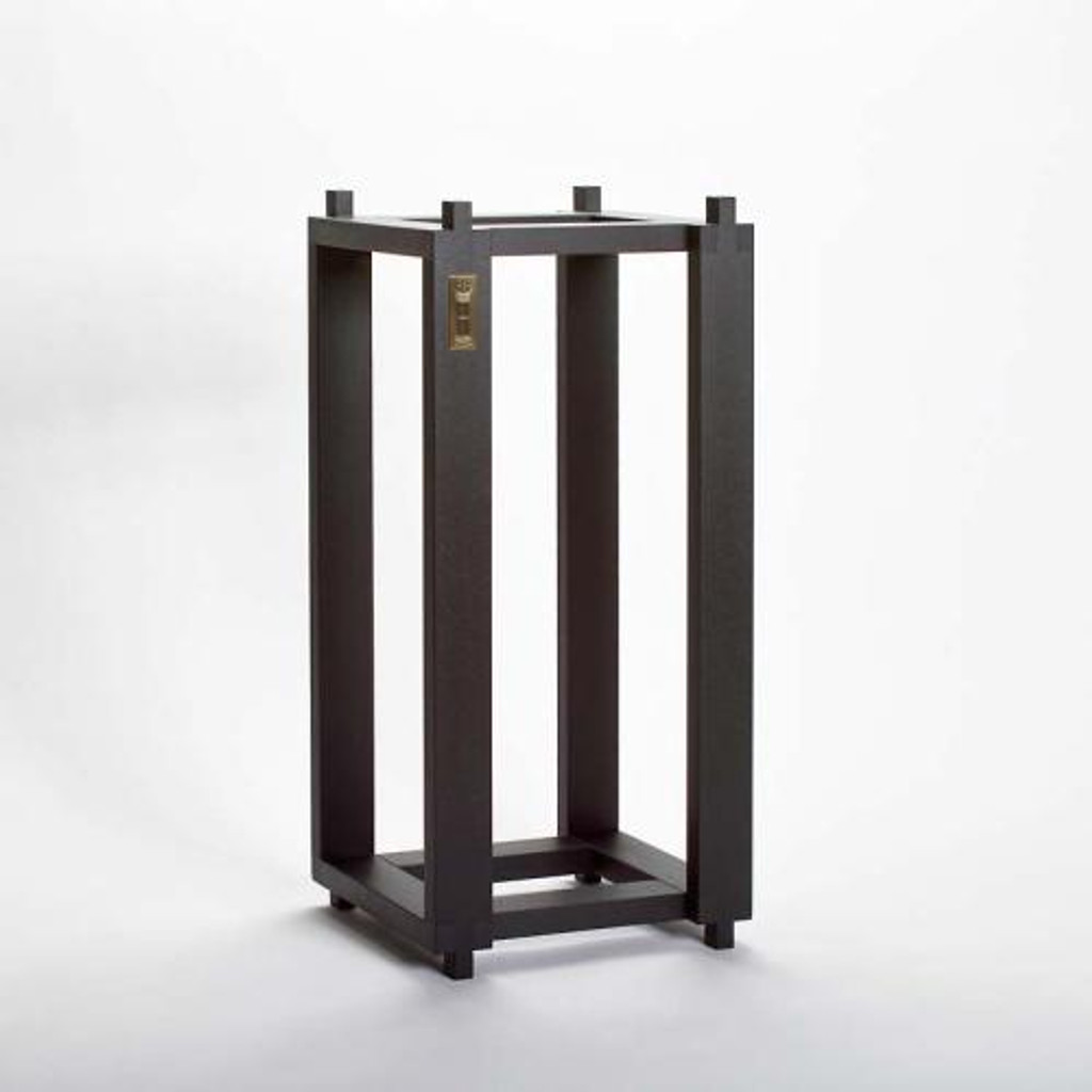 Ton Trager Reference Stands for Harbeth; Beech Black Pair; New w/ Full Warranty