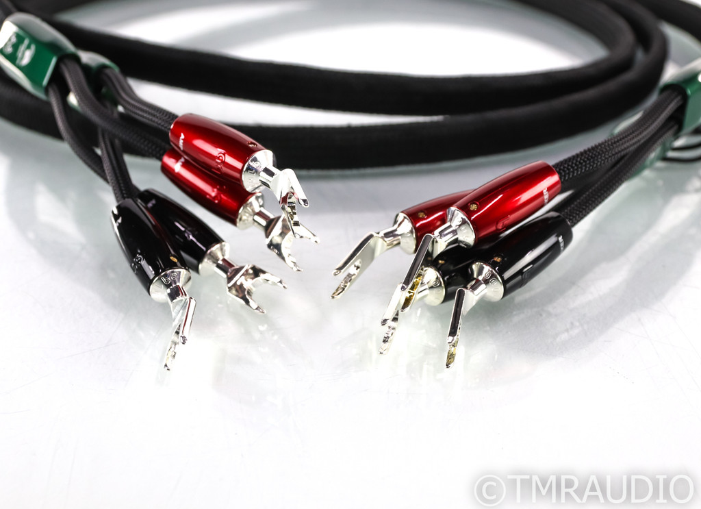 Audioquest Robin Hood ZERO Speaker Cables; 8ft Pair; 72v DBS