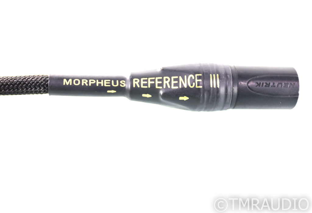Silnote Morpheus Reference III XLR Cables; 0.75m Pair Balanced Interconnects