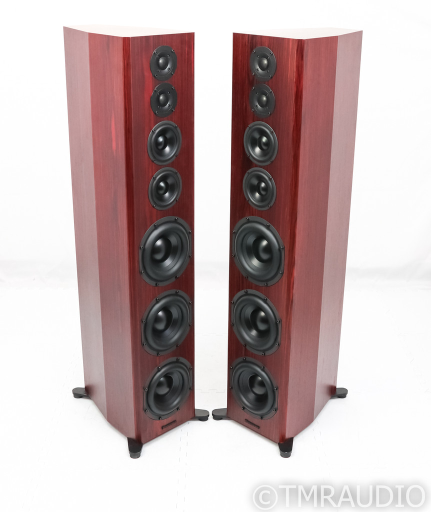 Bryston Model T Passive Floorstanding Speakers; Rosewood Pair w/ Bases