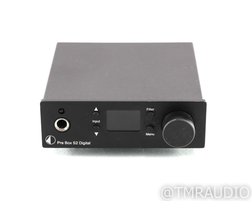 Pro-Ject Pre Box S2 Digital DAC; D/A Converter; S-2