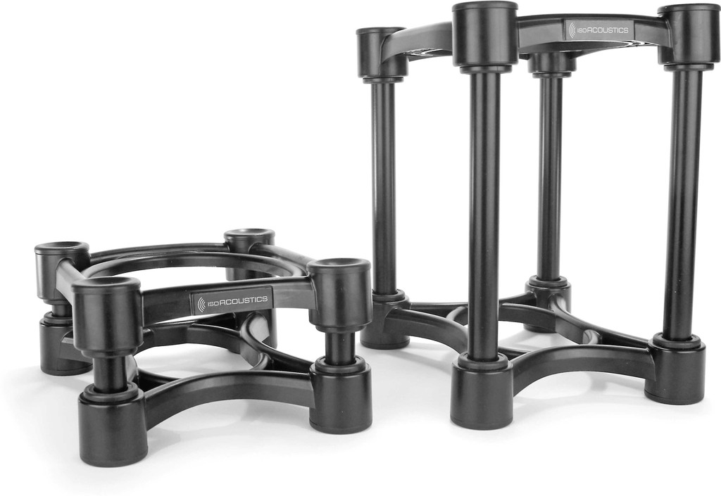 IsoAcoustics ISO-155 Isolation Stand; Pair; B-Stock w/ Full Warranty; Black