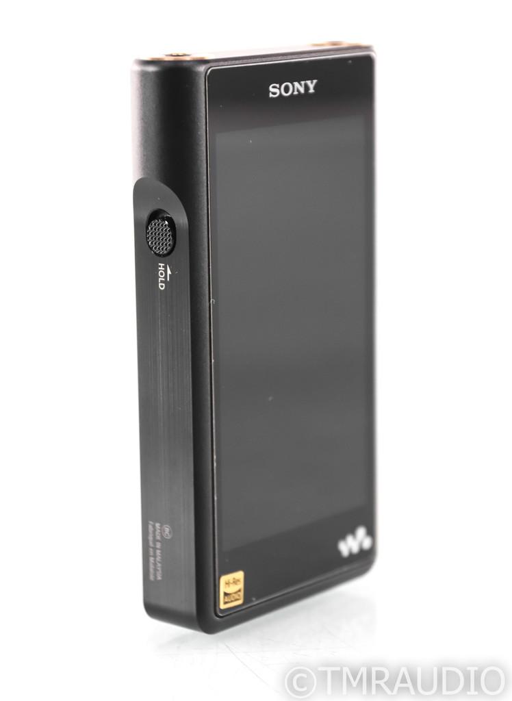 Sony Walkman NW-WM1A 128 GB Portable Music Player; Matte Black; Bluetooth