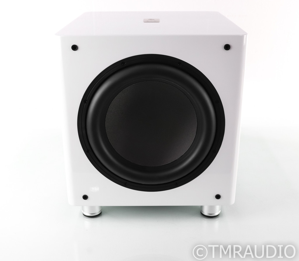 "Sumiko S.10 12"" Powered Subwoofer; White; S10; Closeout w/ Warranty (1/2)"