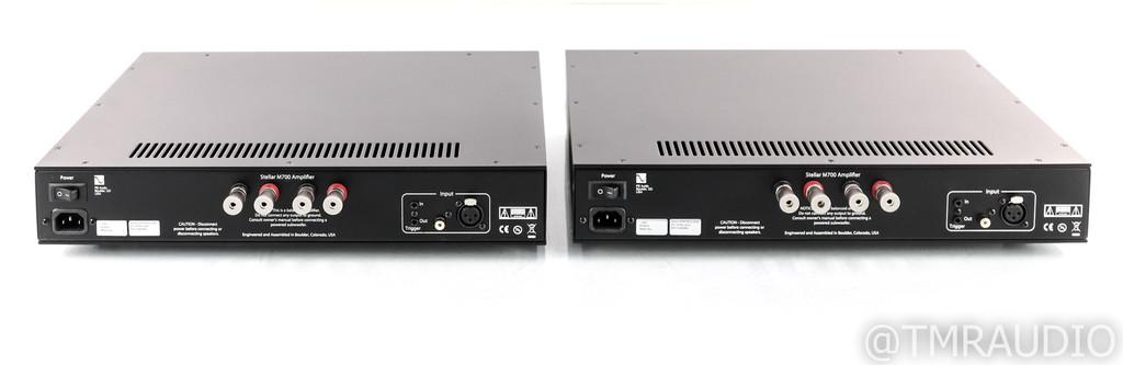 PS Audio Stellar M700 Mono Power Amplifier; Black Pair (Used)