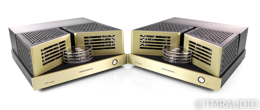 Conrad Johnson ART Mono Tube Power Amplifier; Pair