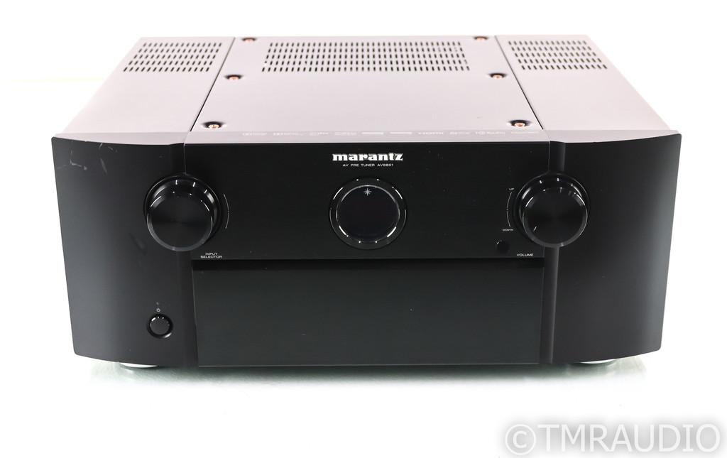 Marantz AV8801 11.2 Channel Home Theater Processor; MM Phono; Remote