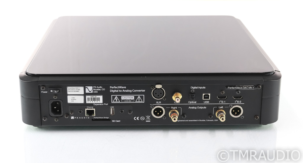 PS Audio PerfectWave DAC MkII; D/A Converter; PWD 2; Bridge I; Remote