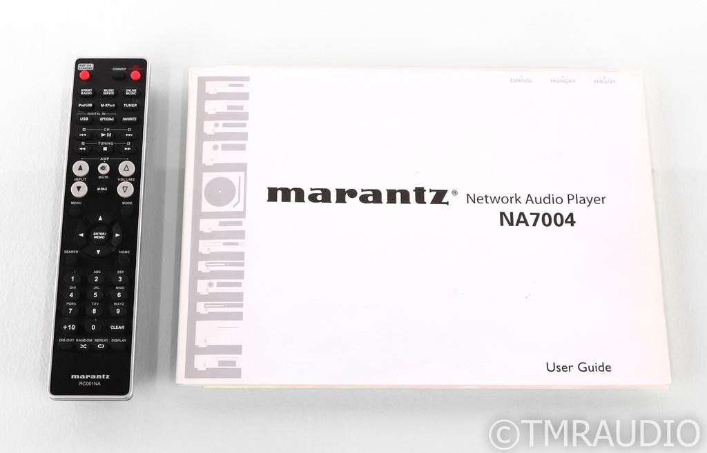 Marantz NA7004 Network Streamer; DAC; NA-7004; Remote