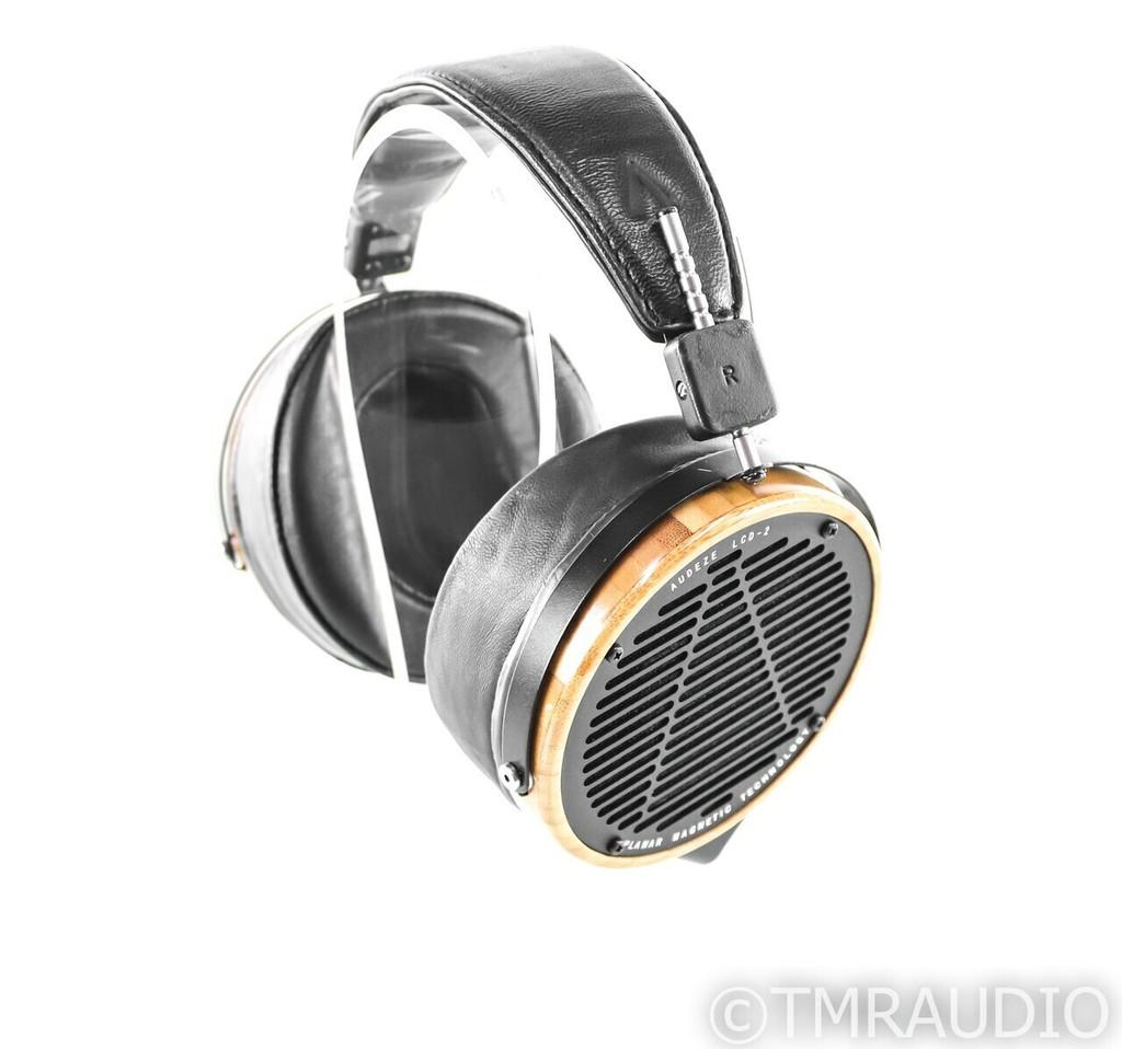Audeze LCD-2 Planar Magnetic Headphones; Bamboo; LCD2