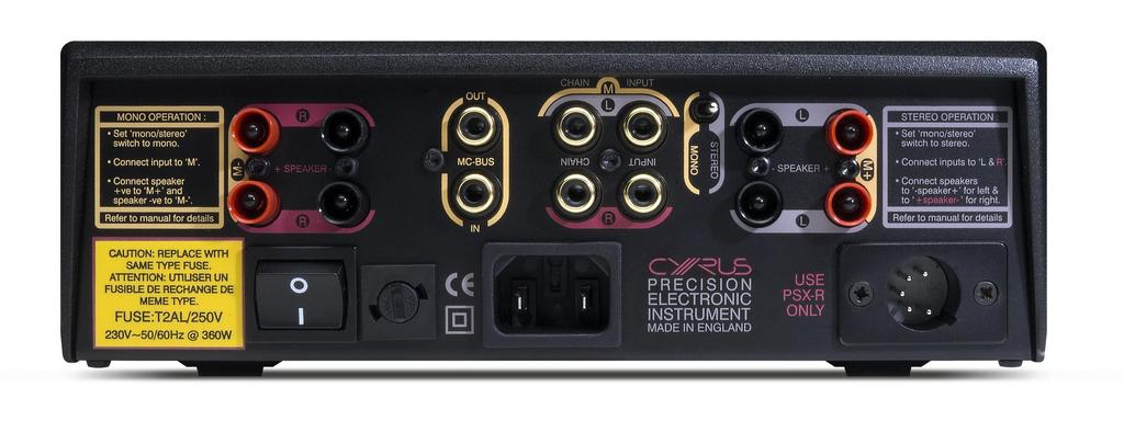 Cyrus X Power Amplifier; New w/ Full Warranty