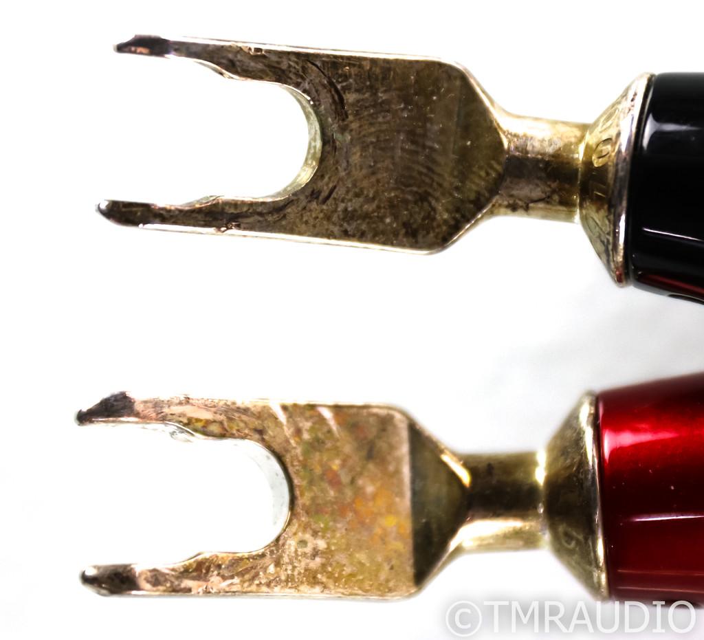 AudioQuest Oak Speaker Cables; 12ft Pair; 72v DBS