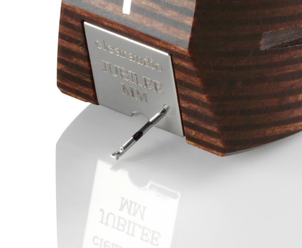 Clearaudio Jubilee Panzerholz MM Cartridge; New w/ Full Warranty