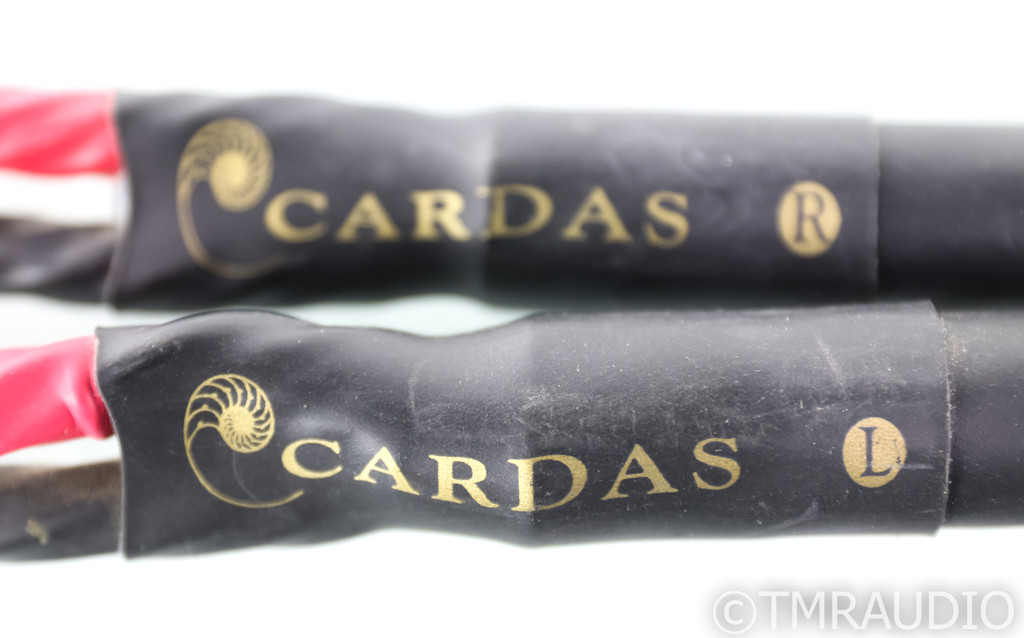 Cardas Golden Reference Speaker Cables; 6ft Pair