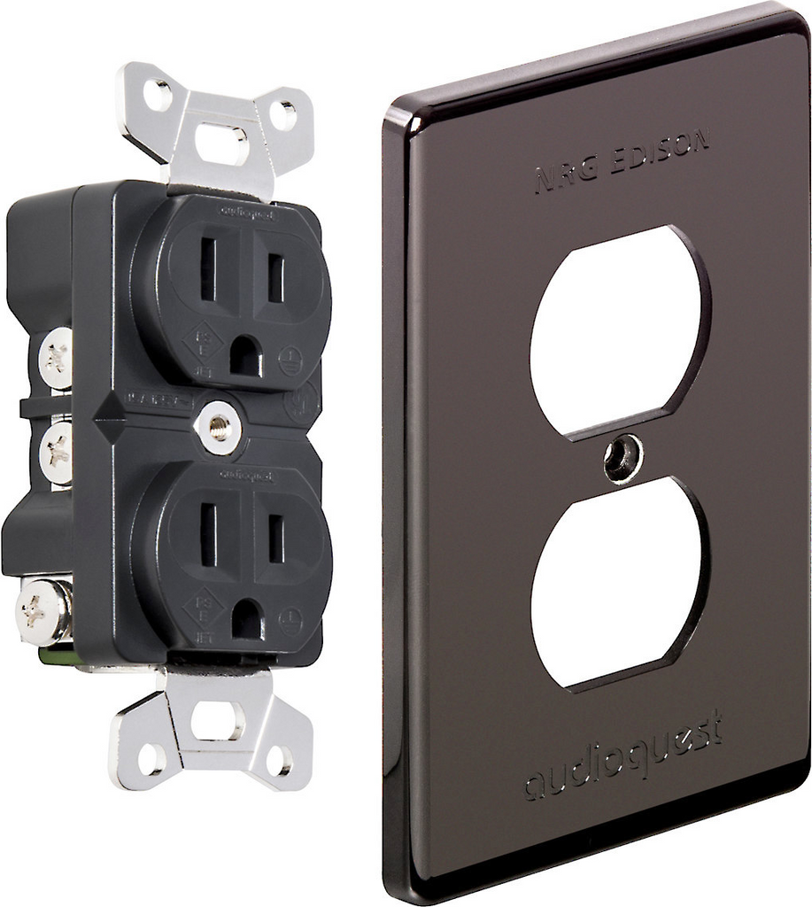 Audioquest NRG Edison Duplex Wall Outlet; New w/ Full Warranty