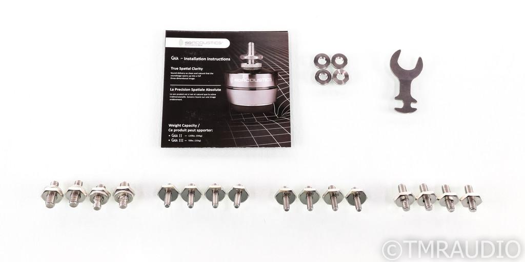 IsoAcoustics Gaia II Isolators; Gaia 2; Pack of Four (New/Open Box)