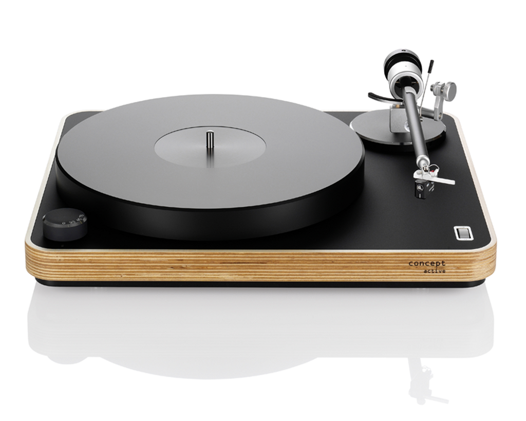 Clearaudio Concept Active Turntable; Light Baltic Birch; New w/ Full Warranty
