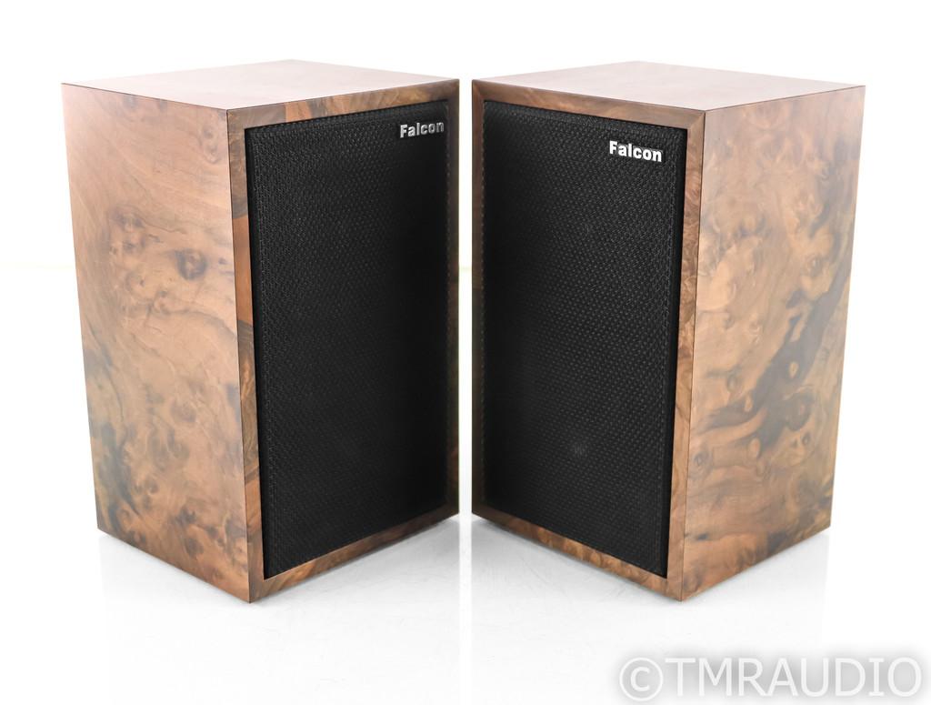 Falcon Acoustics LS3/5a Bookshelf Speakers; Burled Walnut Pair