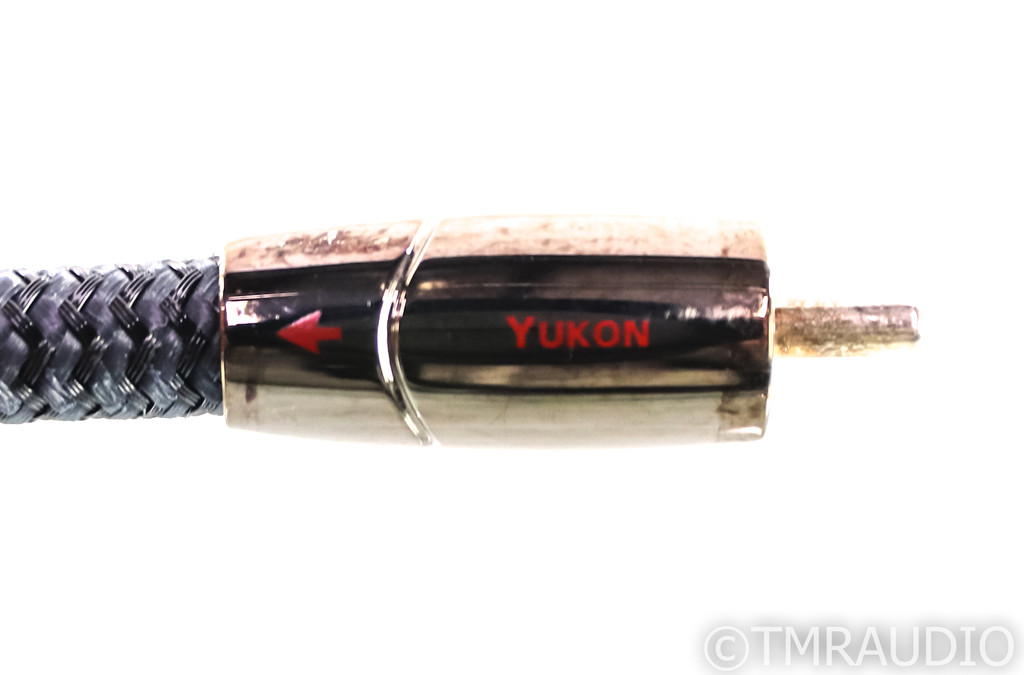 AudioQuest Yukon RCA Cables; 1.5m Pair Interconnects