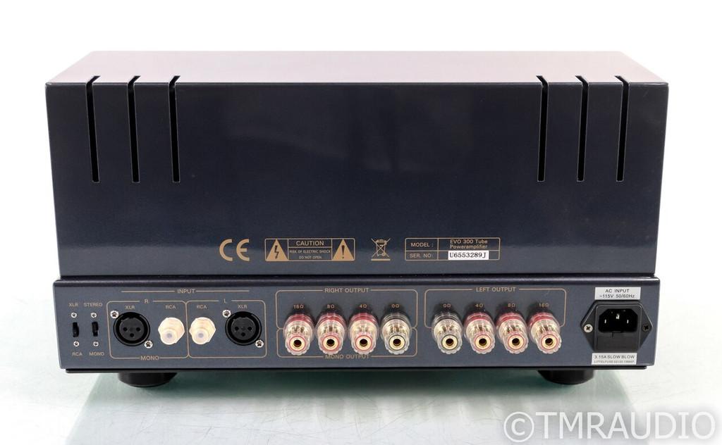 PrimaLuna EVO 300 Stereo Tube Power Amplifier; EVO300; Remote - Mint