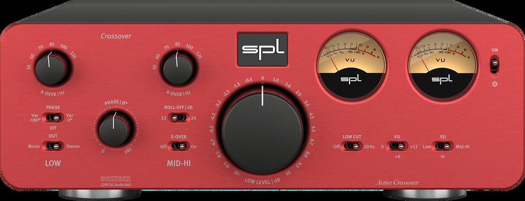 SPL Crossover Active Analog 2-Way Crossover; New w/ Full Warranty