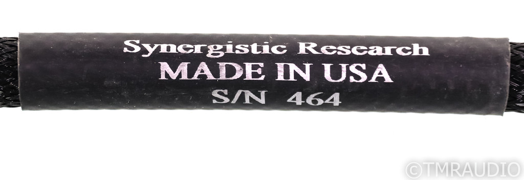 Synergistic Research Mark IIS Speaker Cable; 2.5m Single; Mk 2S
