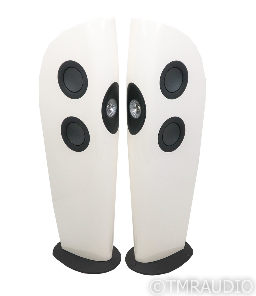 KEF Blade 2 Floorstanding Speakers; Snow White Pair; Two