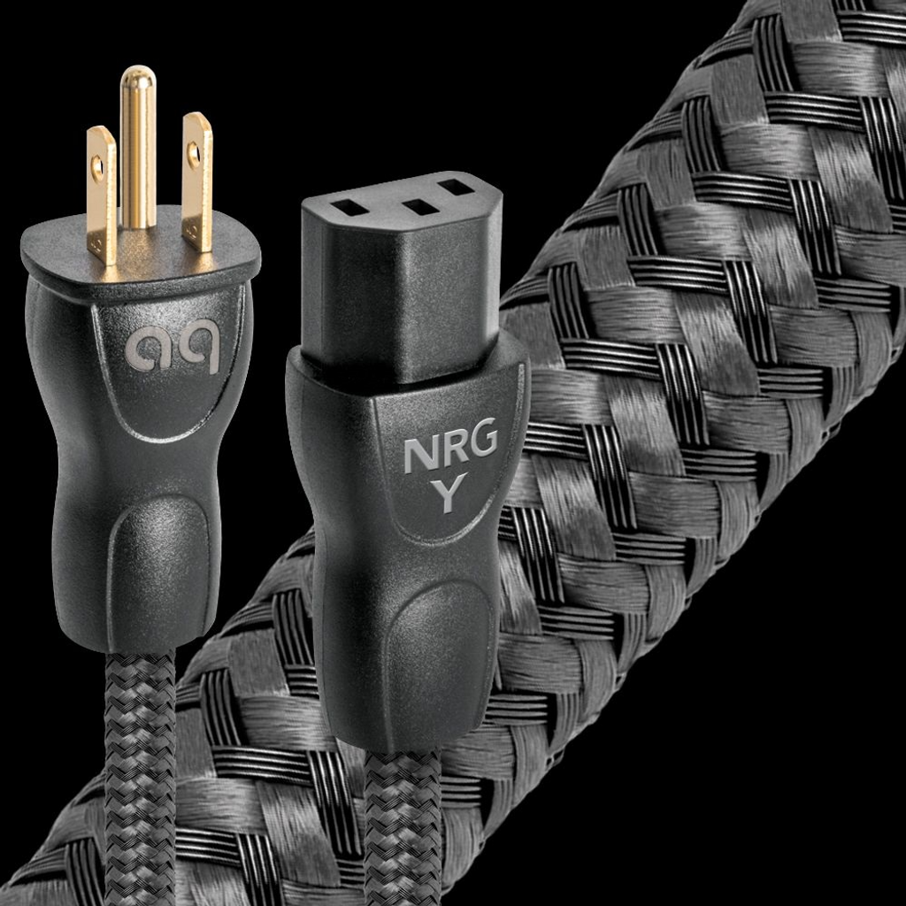 Audioquest NRG-Y3 Power Cable; New w/ Full Warranty