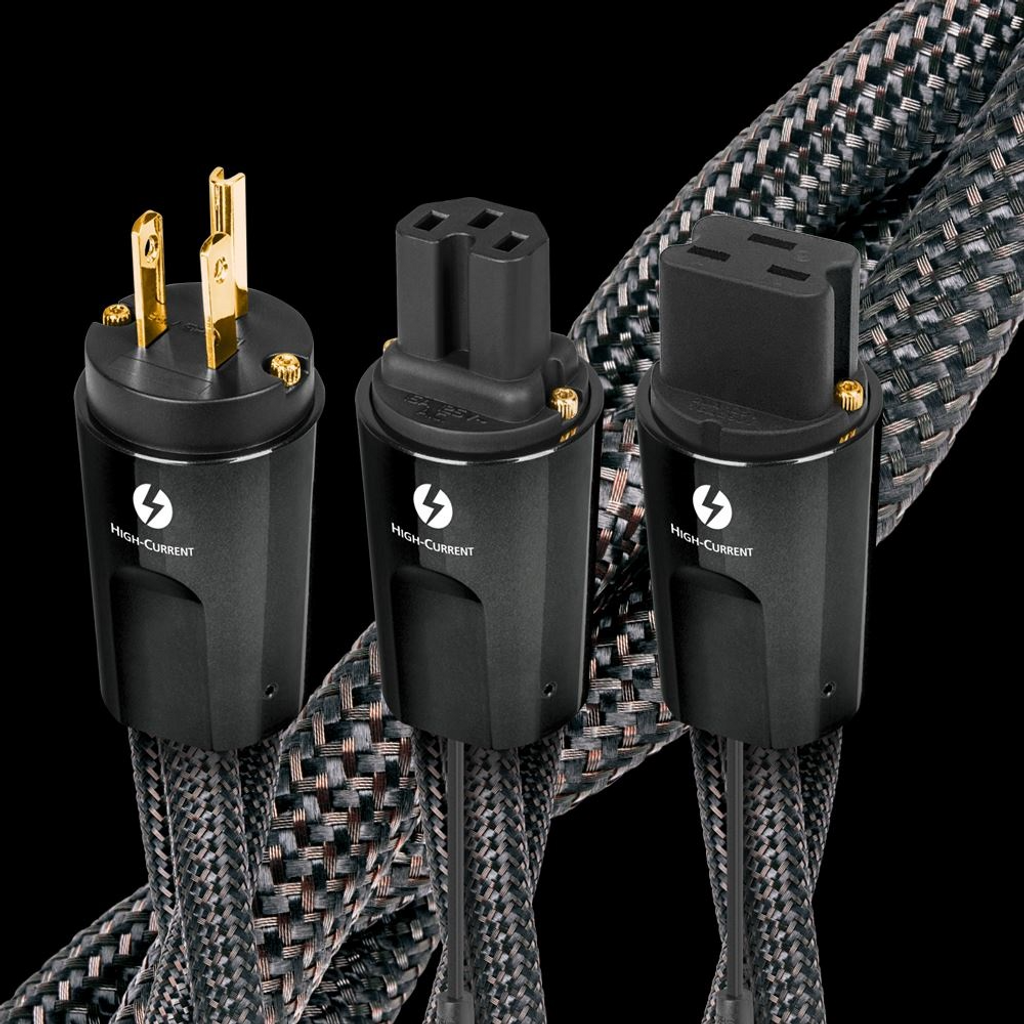 Audioquest Thunder High-Current Power Cable; New w/ Full Warranty (Parallel Configuration)