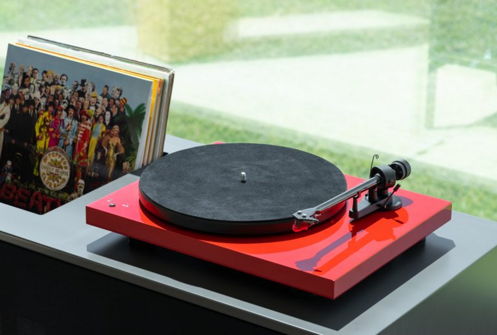 Pro-Ject Leather it Turntable Mat; New w/ Full Warranty
