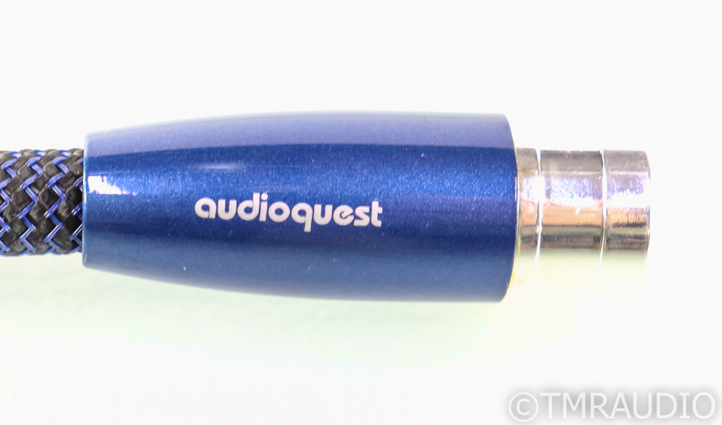 AudioQuest Water XLR Cable; Single 1.5m Balanced Interconnect