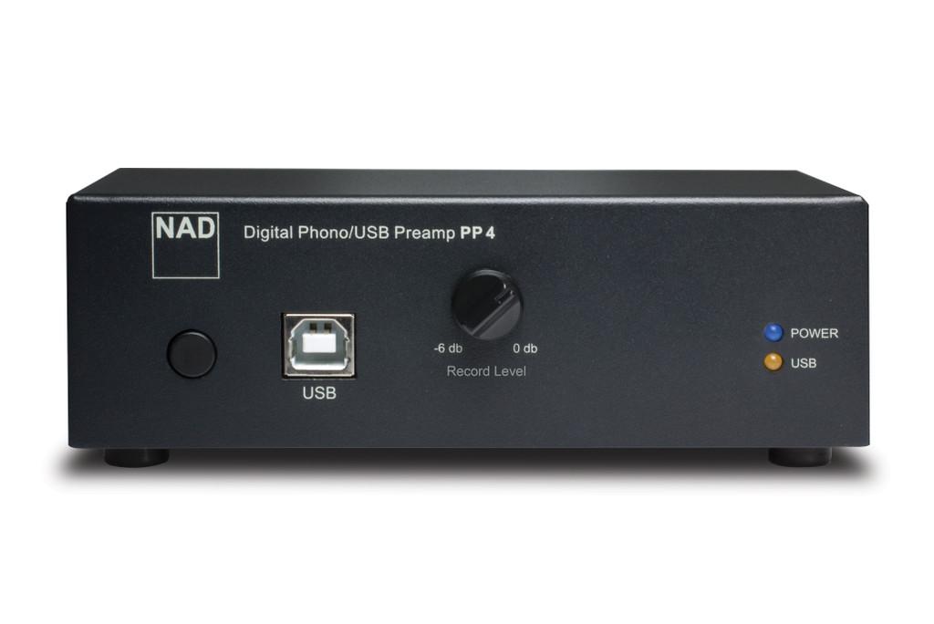 NAD PP 4 Digital Phono USB Preamplifier; New w/ Full Warranty