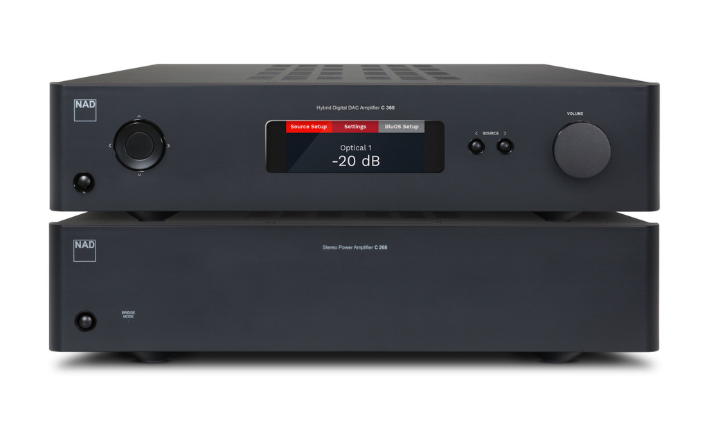NAD C 268 Stereo Power Amplifier; New w/ Full Warranty