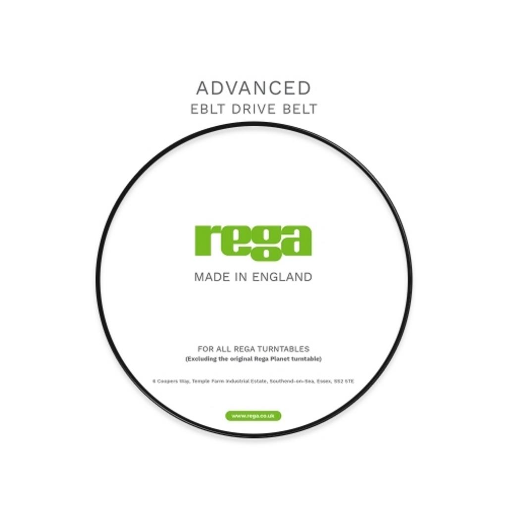Rega Advanced EBLT Drive Belt; New w/ Full Warranty