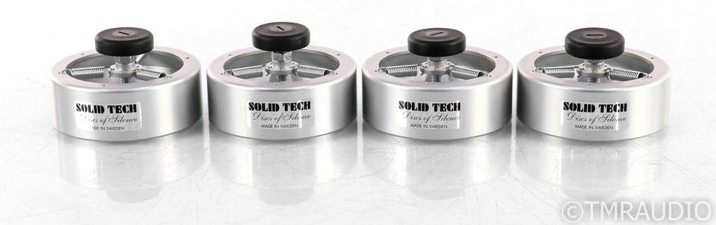 Solid Tech Discs of Silence Acoustic Isolation Feet; Set of 4