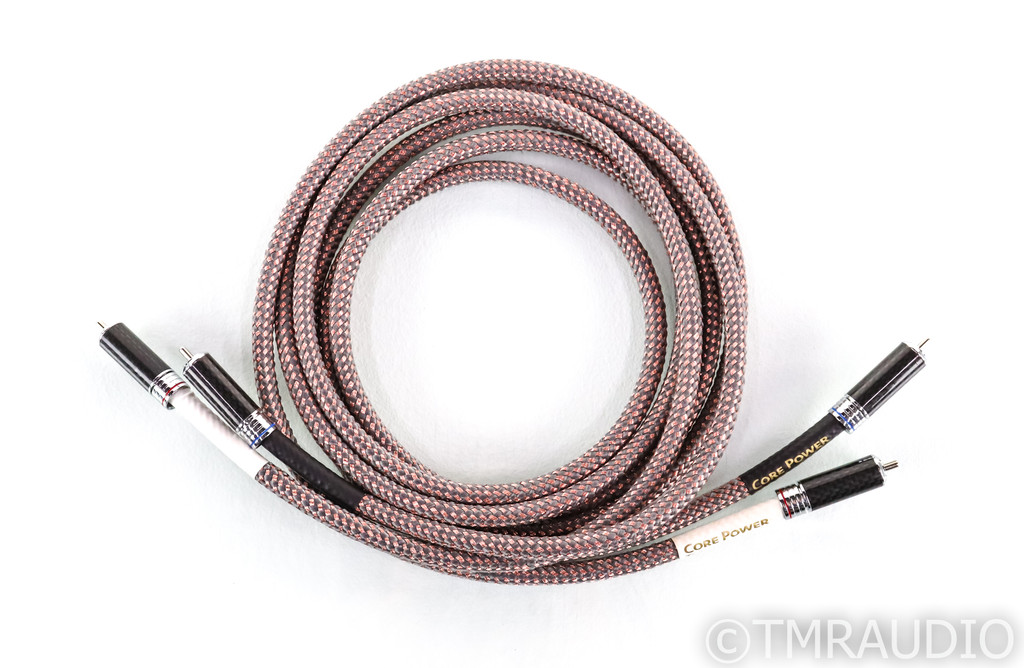 Core Power Linx Diamond RCA Cables; 2m Pair Interconnects