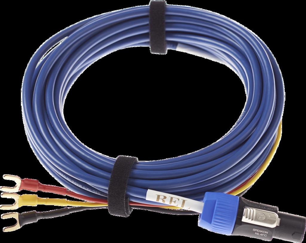 REL Bassline Blue Subwoofer Cable; New w/ Full Warranty