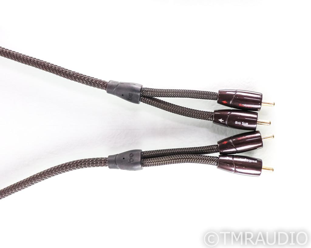 AudioQuest Big Sur Stereo RCA Cable; 1m Interconnect