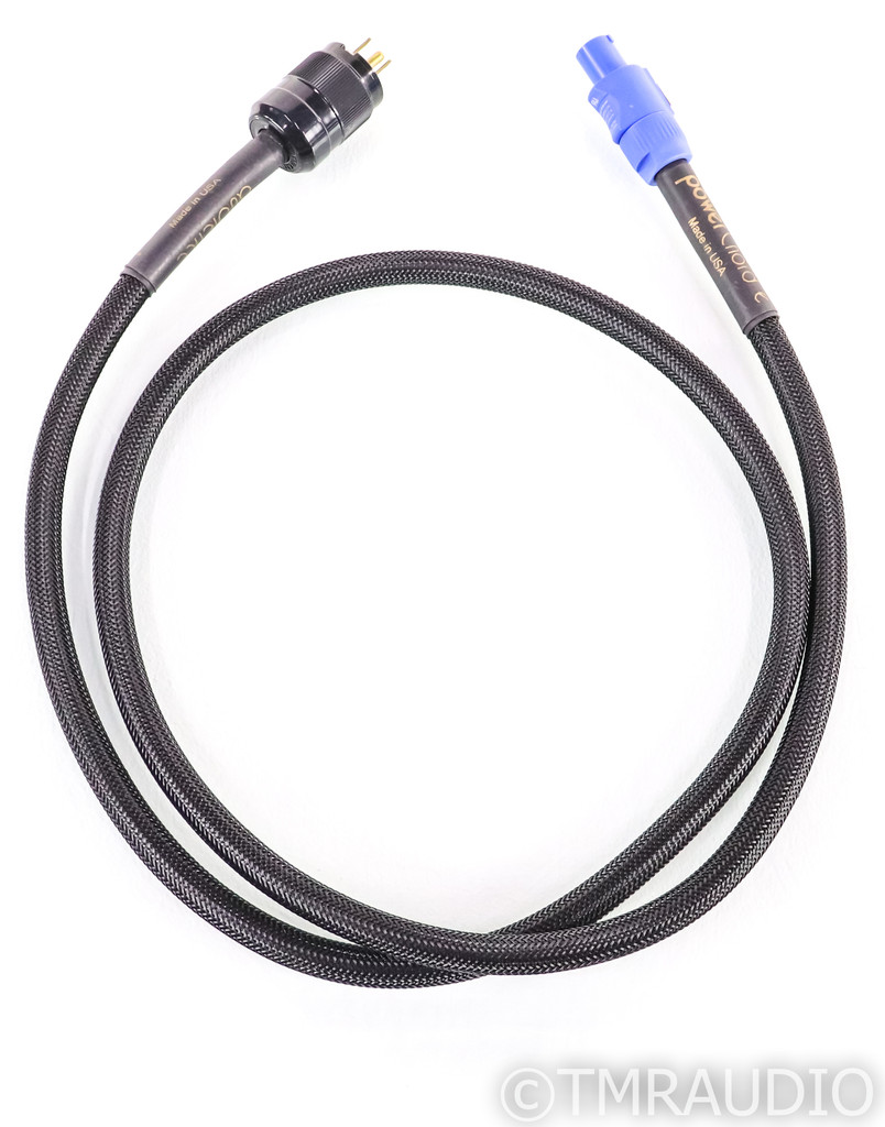 Audience PowerChord e Power Cable; 6ft AC Cord (Speakon Connector)